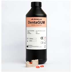 ASIGA DentaGUM-LCD 1kg Bottle