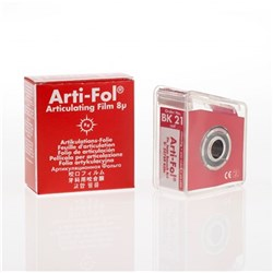 Arti-Fol BK21 Red 1-sided 8u 22mm x 20m in dispenser