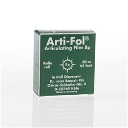 Arti-Fol BK22 Green 1 sided 8u 22mm x 20m with dispenser