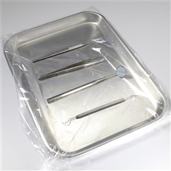 Fitted Tray Barrier w/ Flap Closure 38.5 x 29.5 cm Pkt 500