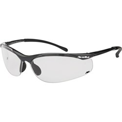 Sidewinder Safety Glasses Clear Lens ea
