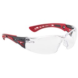 Rush Plus Clear Safety Glasses