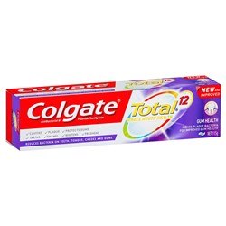 Colgate Total Gum Health Toothpaste 115g box of 12
