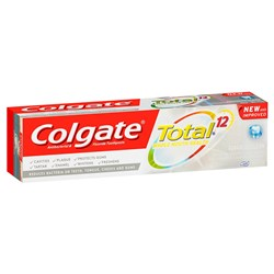 Colgate Total Advanced Clean Toothpaste 115g box of 12