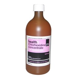 Chlorhexidine 5% Concentrate Tinted Pink 500ml