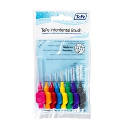 TePe Interdental Brush Mixed Pack of 8