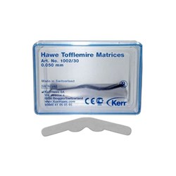 Tofflemire Matrices #1002 0.050mm thin pkt 30