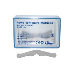 Tofflemire Matrices #1103 0.038mm thin pkt 30