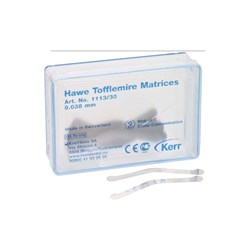 Tofflemire Matrices #1113 0.038mm thin pkt 30