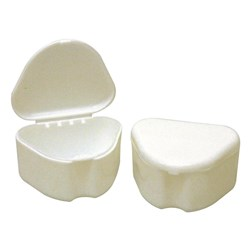Denture Boxes White pack of 12 Henry Schein