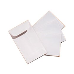 Henry Schein X-Ray Envelope White Plain 2.5 x 4.25 box 500