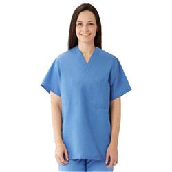 ComfortEase Scrub Top Medium Ceil 1 pocket Reversable ea