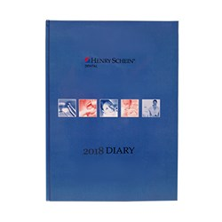 Henry Schein Appointment Diary Blue 2018