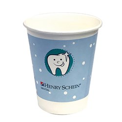 Henry Schein Paper Cups 7oz 207ml x Carton of 1000
