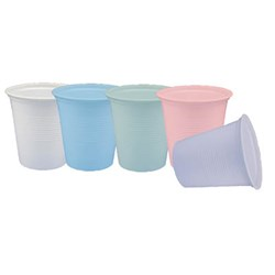 Henry Schein Plastic Cup Dusty Rose 5oz (Pink) box 1000