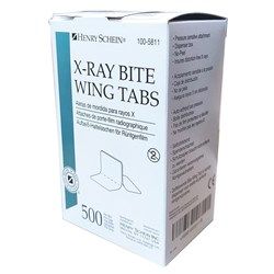 Henry Schein Bite Wing Tabs No Peel box 500