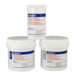 Presept Disinfection Tabs 0.5g Tub 600