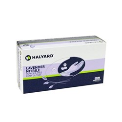 Lavender Nitrile Exam Gloves Small Box of 250