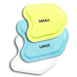 Neodrys Pads For Saliva Control Small Yellow