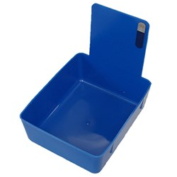 Plastic Work Pan Blue #