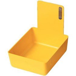 Plastic Work Pan Yellow #