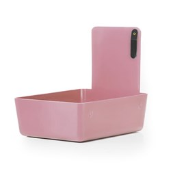 PLASTIC WORK PAN PINK