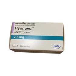 Hypnovel Tablets 7.5mg Box of 100