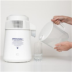 SPRINGFLOW Water Distiller White