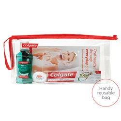 Colgate Regime Bag with Plax No Brush