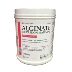 Henry Schein Alginate Fast Set Spearmint 1lb