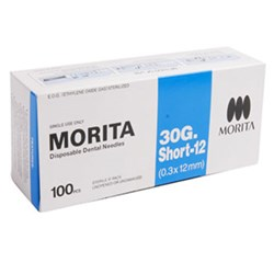 Morita Needle 30G Short 12mm box of 100
